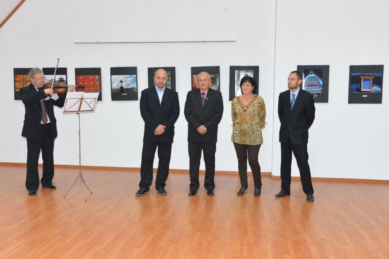 China Photography Festival in Romania - Oppening in Aleşd (RO)