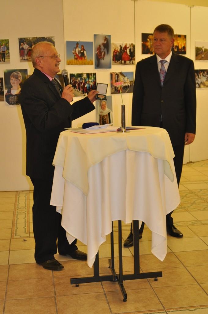 Ştefan Tóth AFIAP - Klaus Johannis, primarul Sibiului
