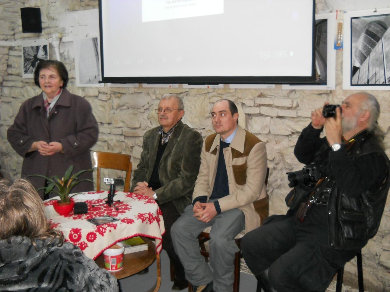 Eléadás Szathmári Pap Károlyról a Kolozsvári STARS Galériában 2013 január 31-én