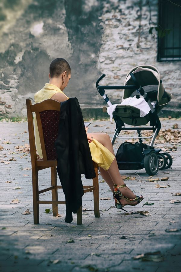 Maja Tomic (SRB) - Woman and baby