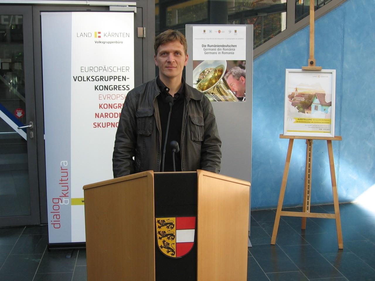 A Romániai Németek országos szalon megnyitója Ausztriában, 2013 október  16 - 18 között