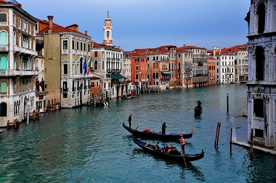 Gheorghe Petrila EFIAP (Oradea-Nagyvárad) - Marele Canal din Veneţia_Nagy velencei csatorna
