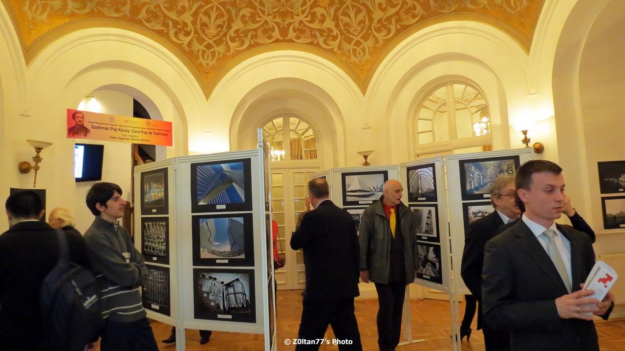 Európa Uniós Fővárosok nemzetközi szalon megnyitója a Bukaresti Balassi Intézetben 2013 január 22-én