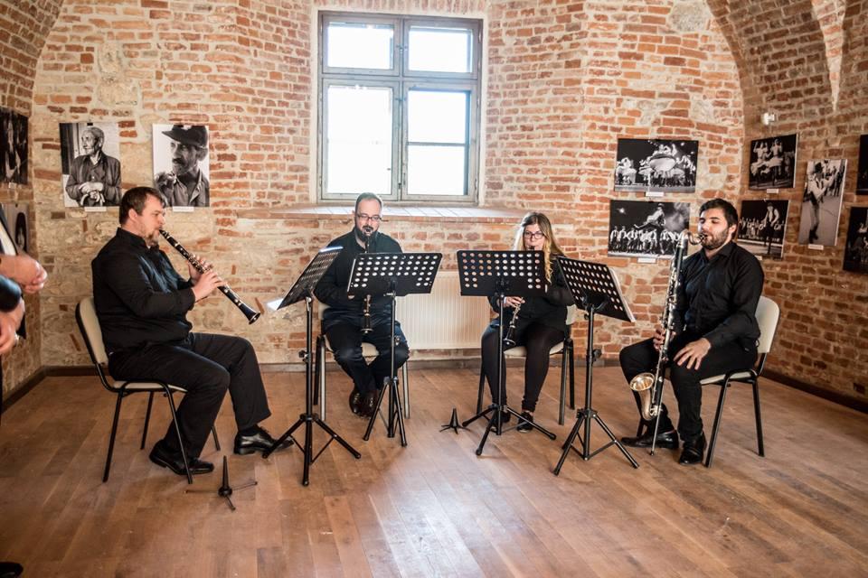 """Cvartetul de Clarinet """"Stadler"""" din Oradea"""