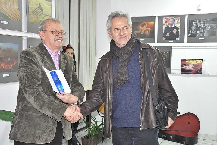 Artistul fotograf Sándor Barcsa din Balc, premiatul Salonului Internaţional