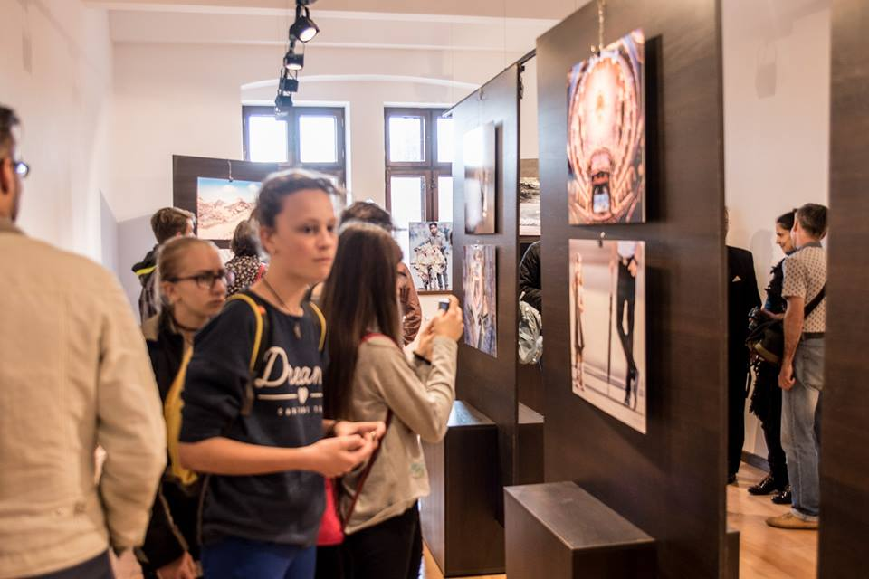 The opening of Ovi D. Pop's EFIAP (Oradea - RO) personal exhibit