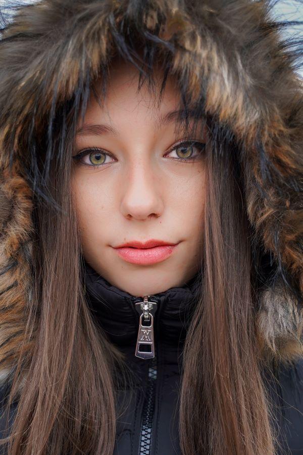 Brasoveanu Henriette Simona (RO) - Winter portrait
