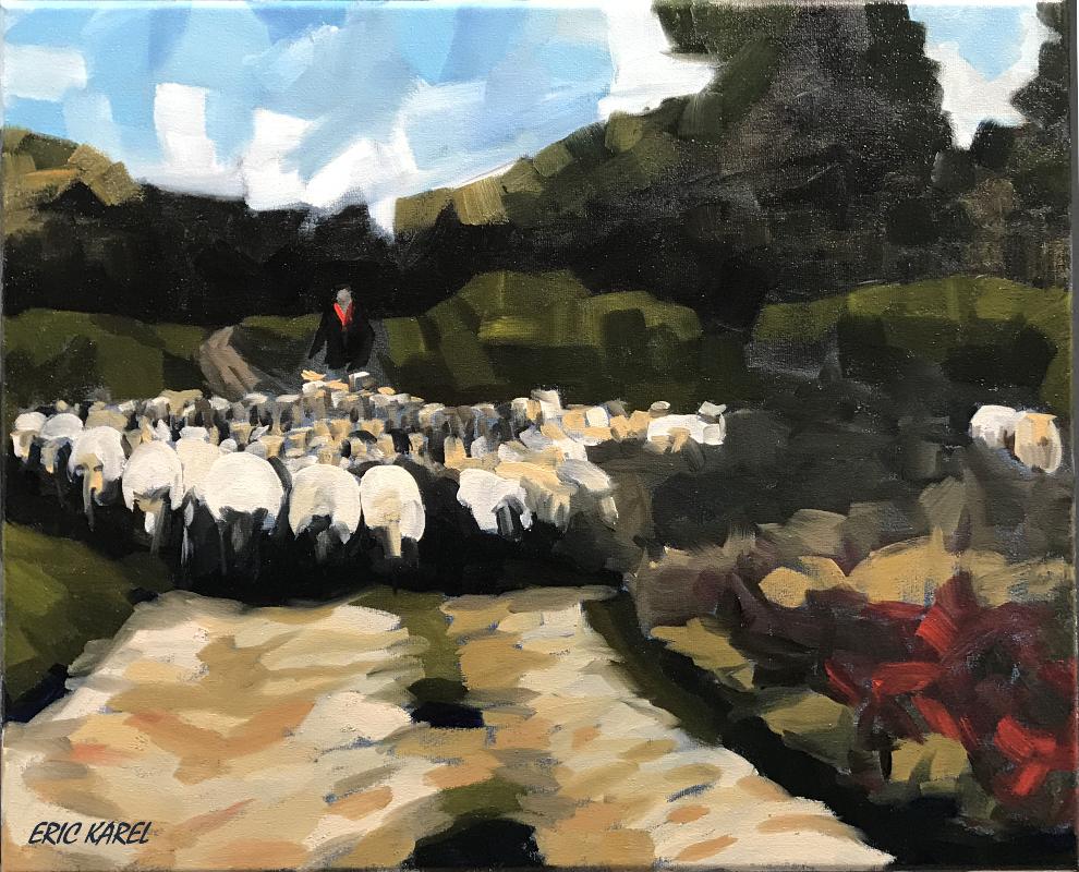 De schapen van herderin Rozenn