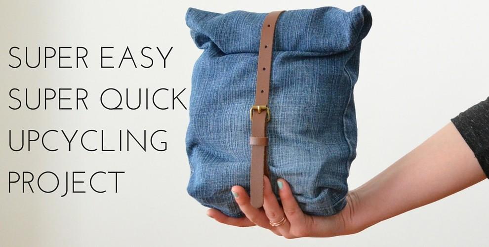 mini upcycling projekt tasche aus alter jeans felicity. Black Bedroom Furniture Sets. Home Design Ideas