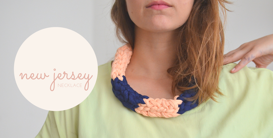 New Jersey Necklace - DIY Statement-Kette