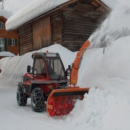 Westa Mountable blower for snow clearing