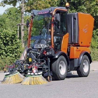 Kugelmann sweeper-suction combination