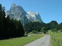 Grandiose Bergwelt während der E-Bike Tour