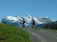 Aufstieg mit dem E-Mountainbike von Wengen zur Kleinen Scheidegg