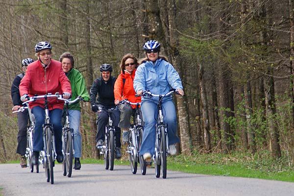 Mit dem E-Bike unterwegs auf der Diemtigbergli-Tour