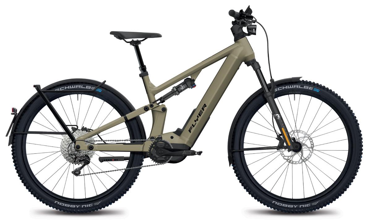 E-Mountainbike FLYER Goroc X 6.70 HS sand