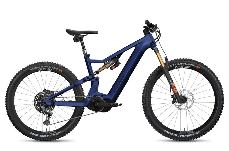 E-Mountainbike FLYER Uproc X enzianblau