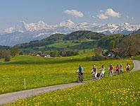 Unterwegs auf der Belpberg Tour mit dem E-Bike