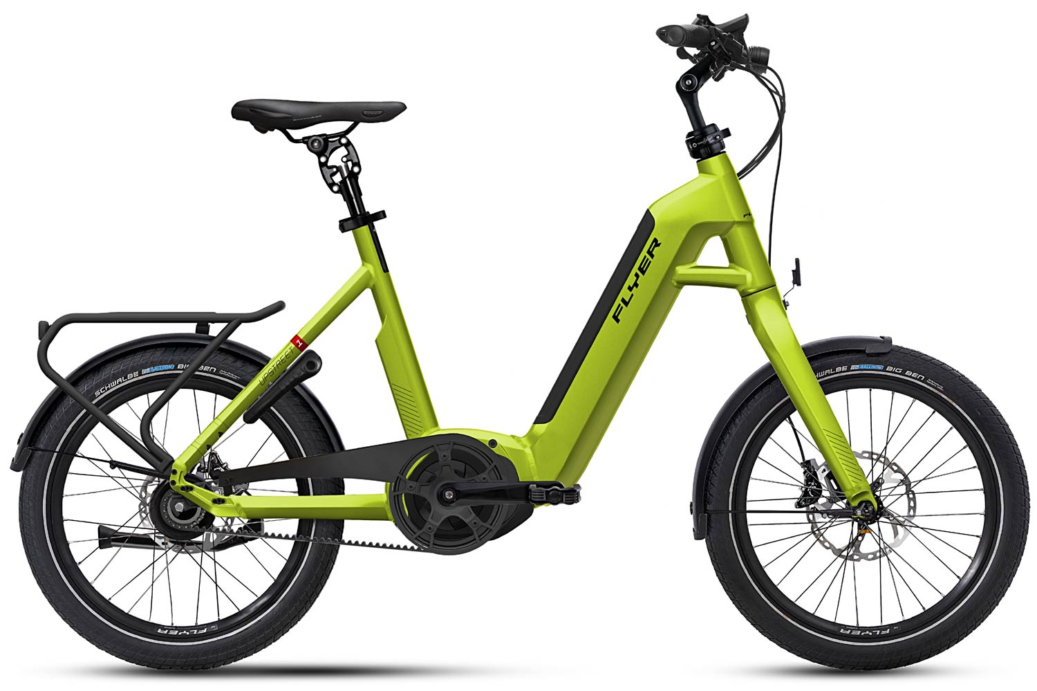 E-Bike FLYER Upstreet1 limegrün