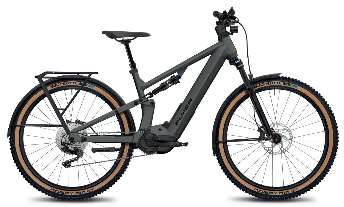 E-Mountainbike FLYER Goroc X 4.10 black satin