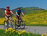 Mit dem E-Bike unterwegs auf der Stockental Route