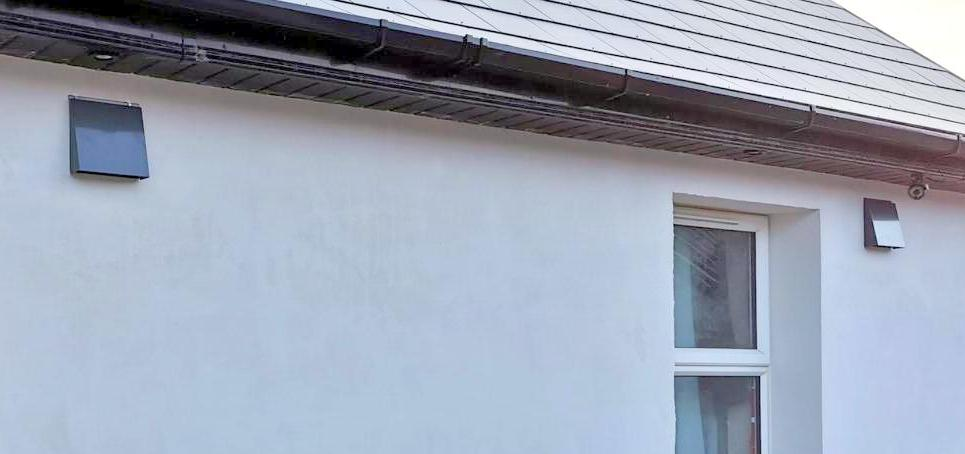 ALD 160 background ventilation as ventilation strategy for external wall insulation