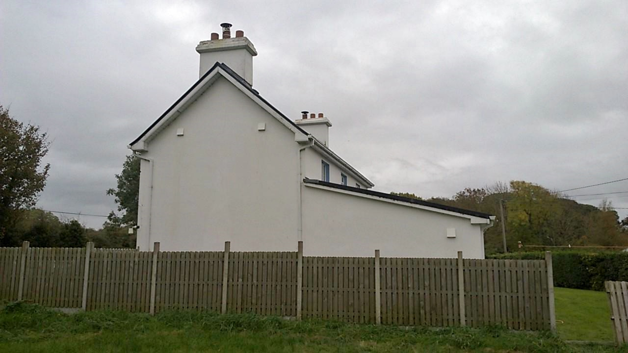 White External Hoods of SEVi 160 Ductless HRV, Co. Kerry