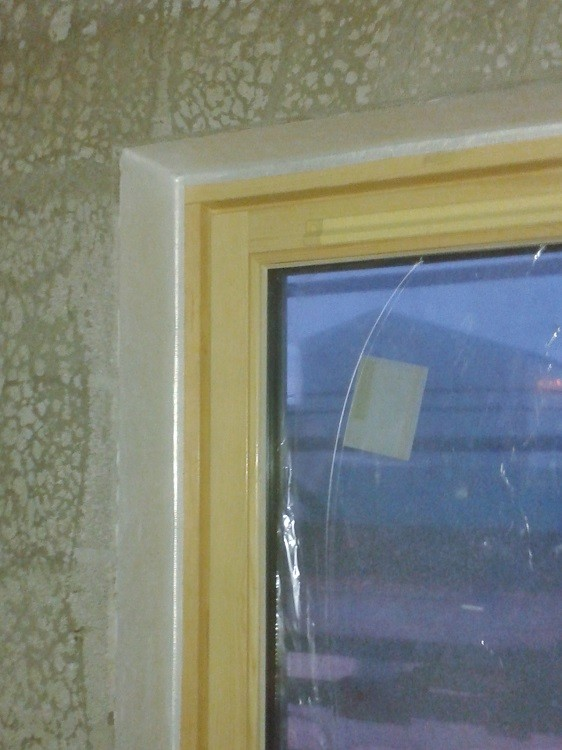 Airtight sealing for aluclad windows