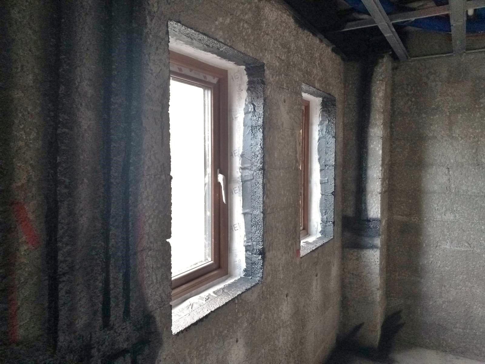 The best preparation for air tight windows - window tape & air tight paint