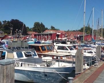 Hafen Erlebnis im Sommer als Geschenkidee für 15-Jährige