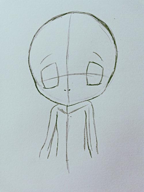 Manga-Augen Zeichnen Schritt 5