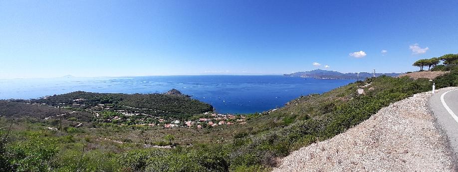 Panoramstrasse bei Capoliveri
