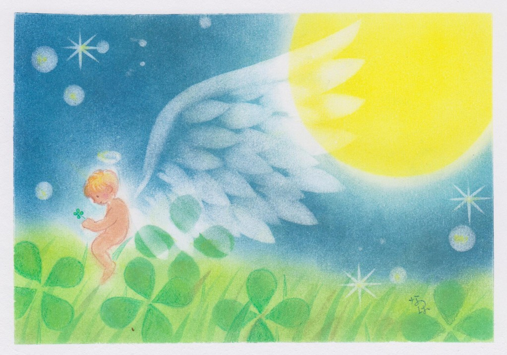 しあわせ月夜の天使