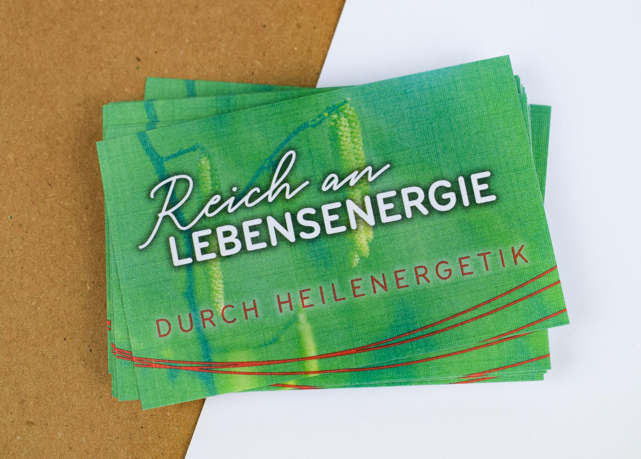 Visitenkarten Grafikdesign Straubing Werbeagentur