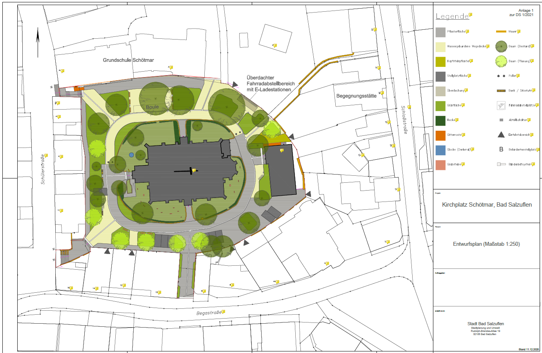 Umgestaltung des Kirchplatzes - ein guter Auftakt für den Masterplan?