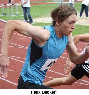 Felix Becker, Nordrheinmaisterschaft - 100m Sprint