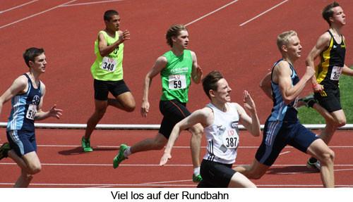 200m Sprint von Nr 59 Philipp Eßer in Mönchengladbach                             / Foto: Kreis Oberberg