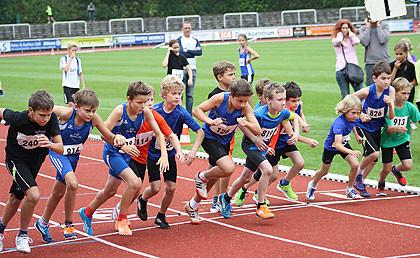 800m - 2ter u. 4ter v. rechts: Lennard u. Soeren Schmidt - Bild: Oberberg aktuell
