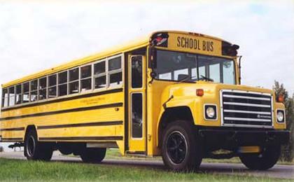 Amerikaanse schoolbus, de Vervoering bemiddelt in de verhuur