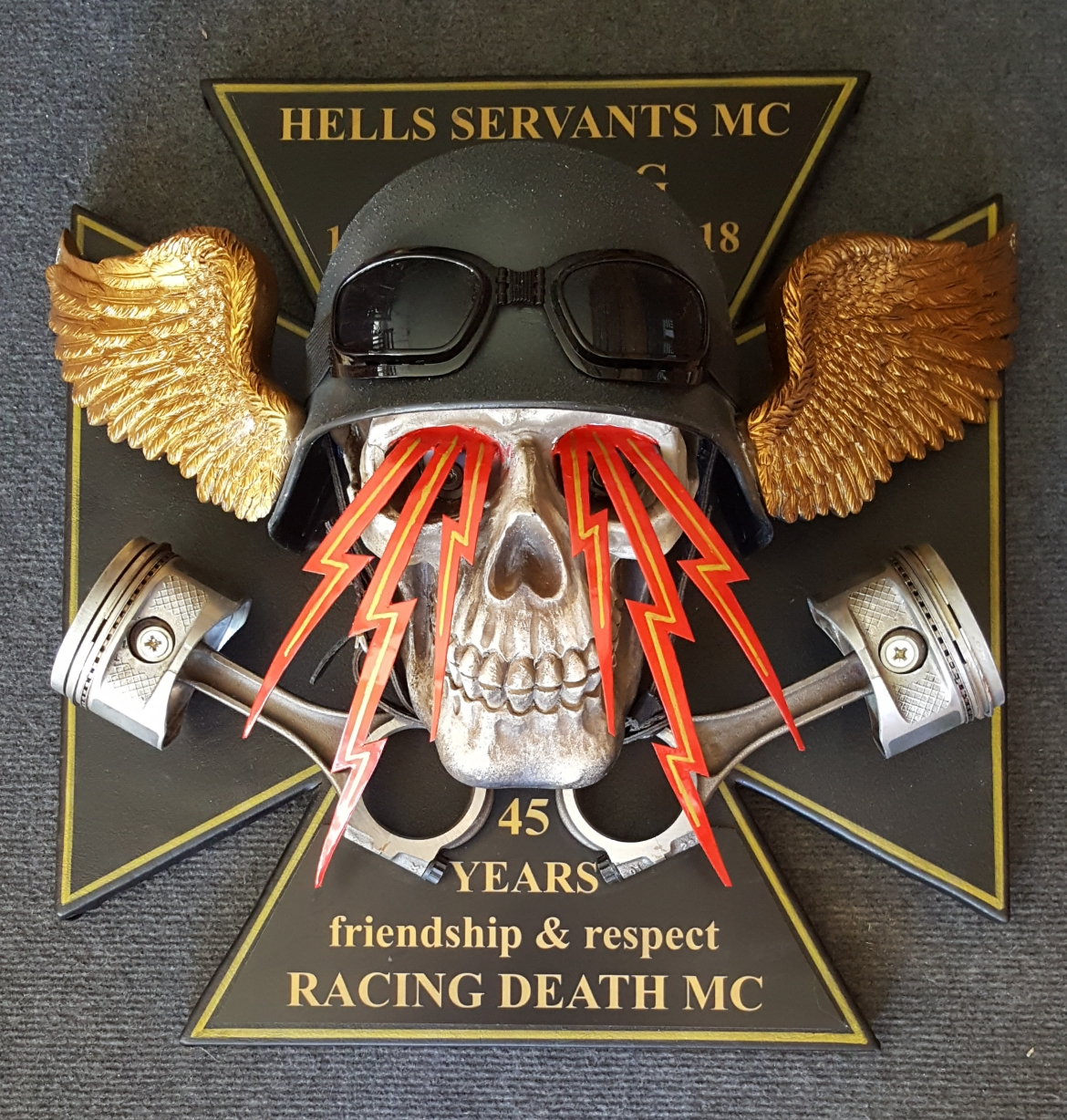 HELLS SERVANTS 45 YEARS