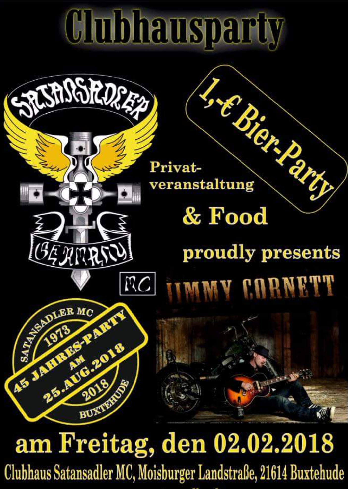 Satansadler MC Buxtehude Winterparty