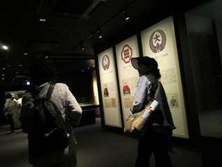 天守閣博物館内部