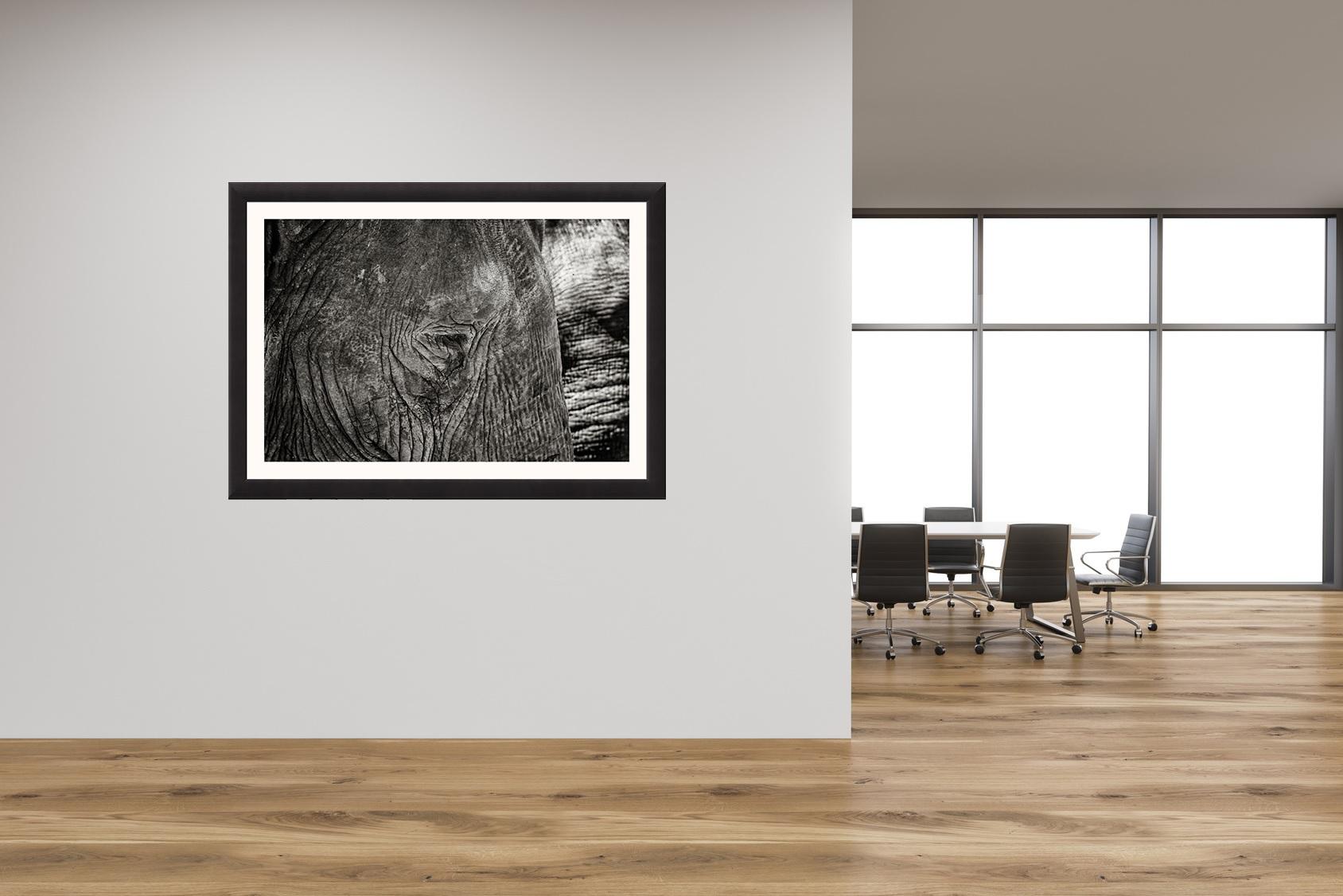 Aufhängebeispiel mit Rahmen / Hanging example with frame