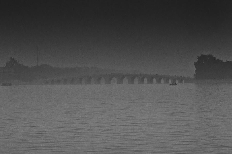 Bridge at Dawn, Beijing, China 2015