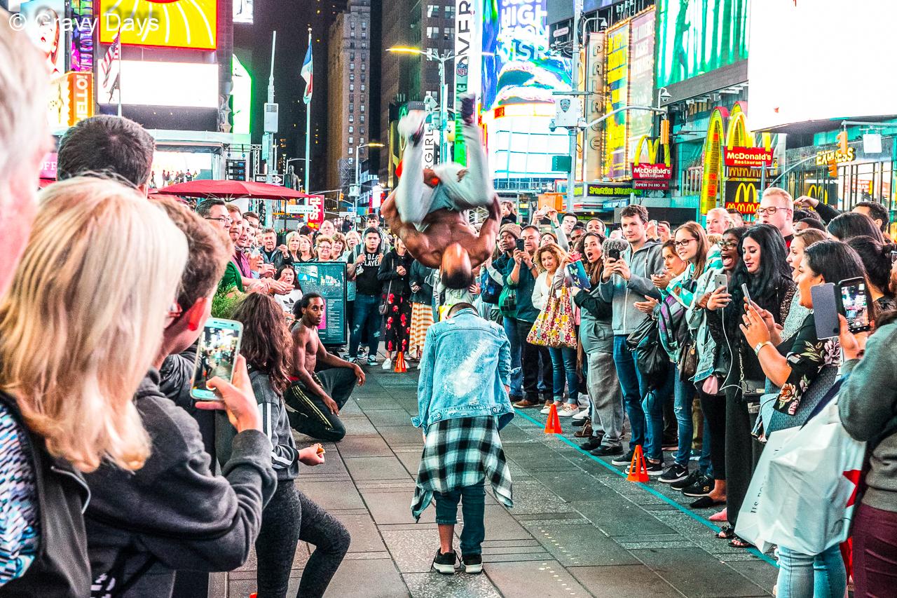 Jump, New York Broadway, 2018