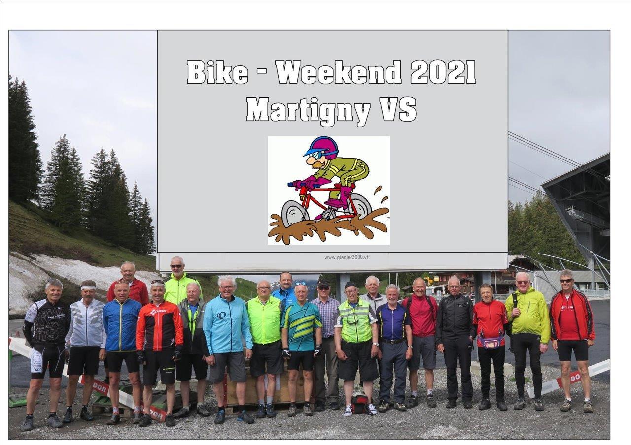 Velo- und Biketour Martigny Unterwallis 3. bis 6. Juni 2021
