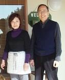 創業者永田司、節子写真