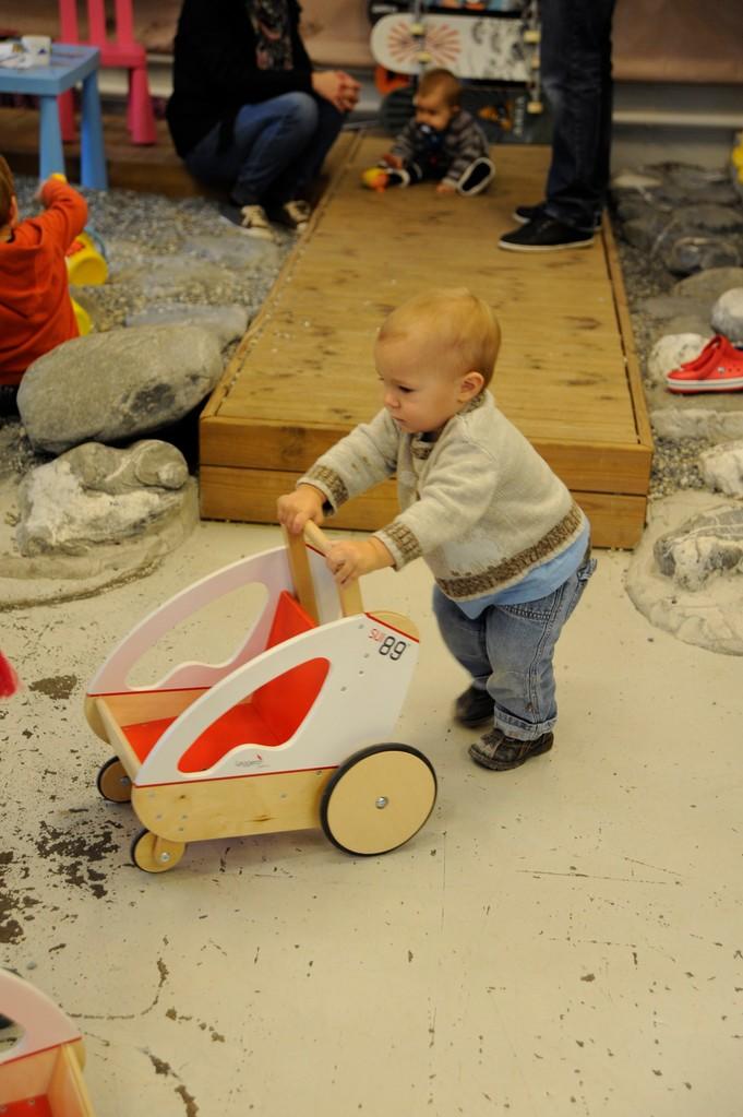 Auch Ventolino – die Laufhilfe für Kleinkinder – gibt es bei uns zu kaufen