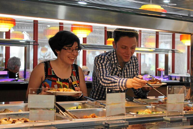 Kantonesische Küche aus China
