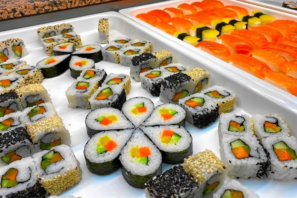 Sushi und Makki